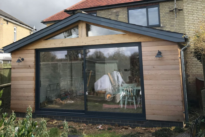 Farrers Construction bifold aluminium door installation